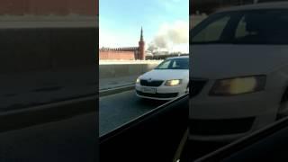 5.05.2017 пожар в Москве
