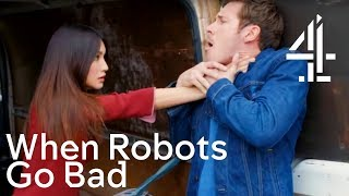 When Robot Synthetics Go Bad - A (Very Dark and Serious) Robot Fail Compilation | Humans