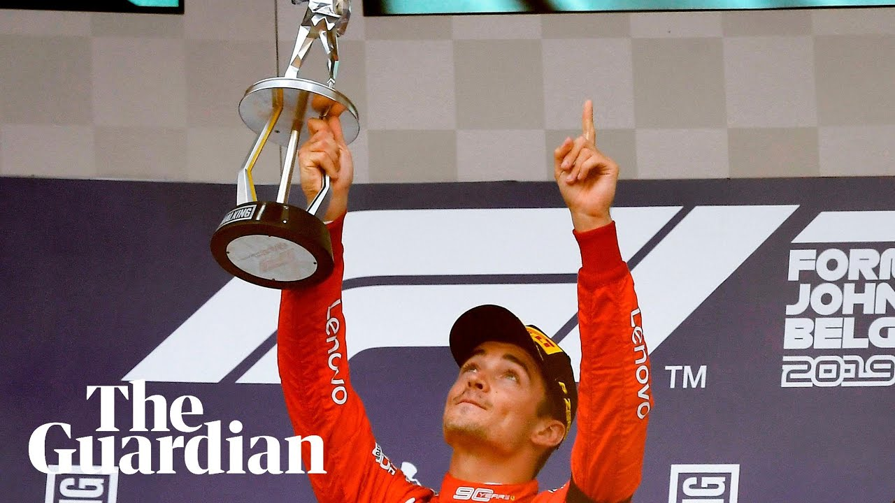 Charles Leclerc dedicates maiden F1 win to memory of Anthoine Hubert