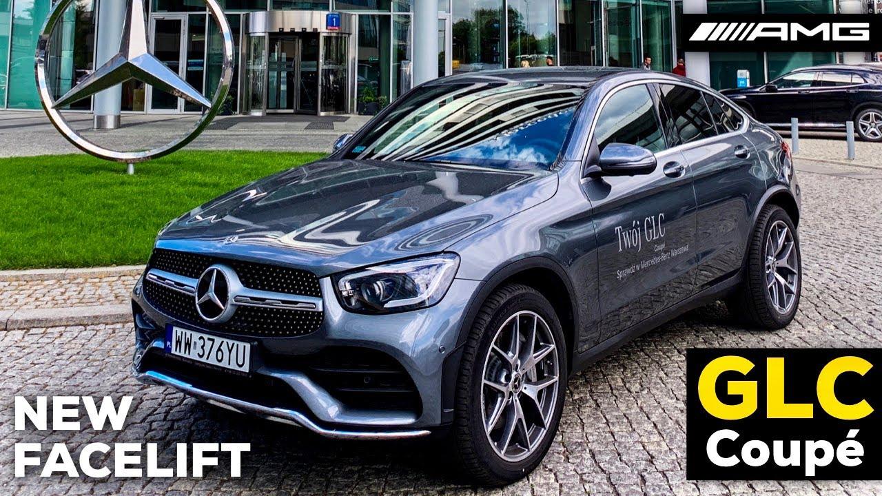 2020 MERCEDES GLC Coupé New FACELIFT GLC 220d AMG Line MBUX Review POV Drive Better than BMW X4?!