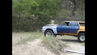 Holden Overlander - 3.6 Tonne articulation and brake test day