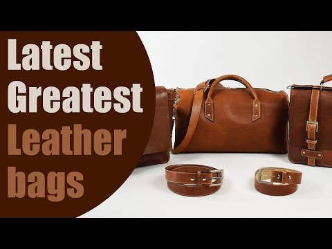 Top 5 Plus Latest Greatest Leather Bag Design Innovations