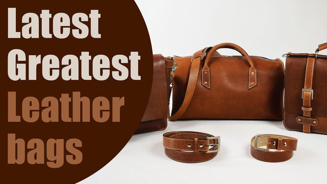 Top 5 plus latest greatest leather bag design innovations youtube top 5 plus latest greatest leather bag design innovations gumiabroncs Images