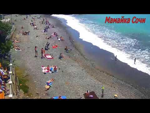 🔥МАМАЙКА -- Отдыхающие кайфуют при карантине в Сочи 17 Мая 2020\\ Мамайка туристы на пляже