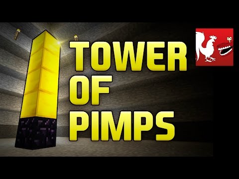 Minecraft Rap  Tower of Pimps TOP  Rooster Teeth