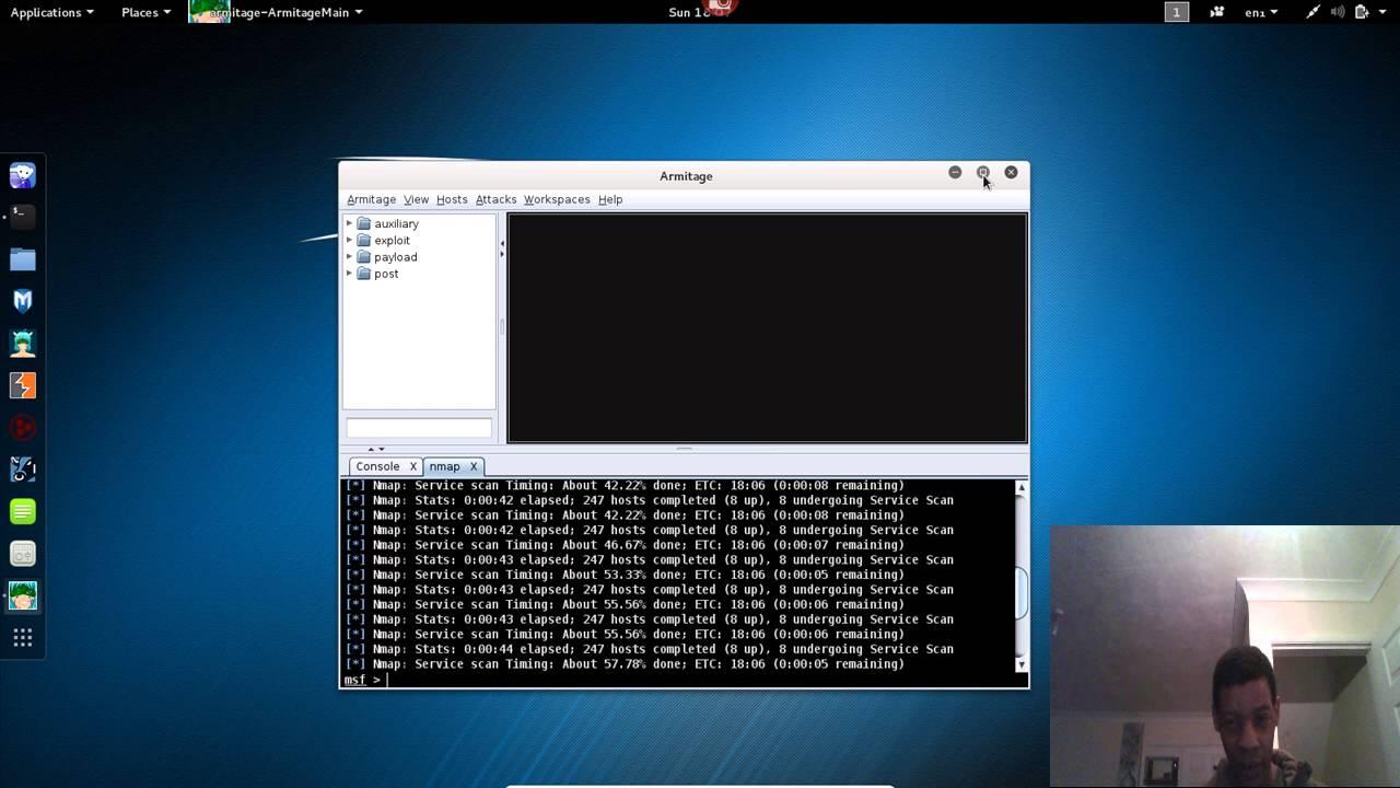 Armitage Metasploit Framework GUI