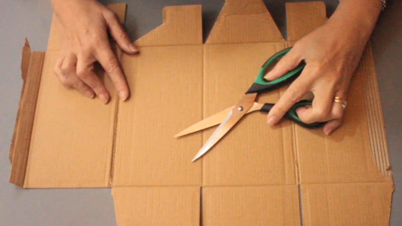 ♻ 3 MANUALIDADES con CARTÓN 🌼 IDEAS de RECICLAJE 😍 DIY 🌼 Arte en casa