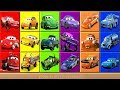 Cars 3 Lightning McQueen Learn Colors Video for Kids - Puzzle Games