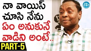 Gundu Hanmantha Rao Exclusive Interview Part #5 || Soap Stars With Harshini