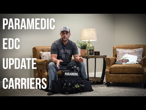 Tactical Paramedic EDC Carrier Fall 2020 Update