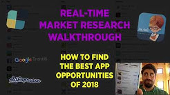 Real-Time Market Research Walkthrough On The App Store - Bluecloud Solutions