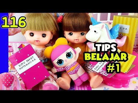 Tips Belajar Ala Rena Bagian 1 - Mainan Boneka Eps 116 S1P13E116 GoDuplo TV