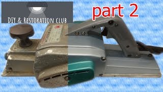 Electric carpentry tools such as Hand planer Restoration  2