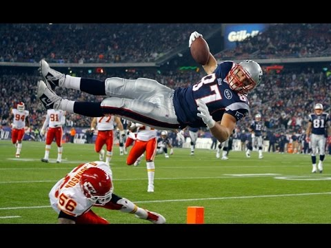 Highlights Rob Gronkoswki New England Patriots ᴴᴰ (2010-2015)
