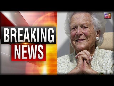 BREAKING: CONFIRMED. Former First Lady Has Died at the age of 92 #BarbaraBush
