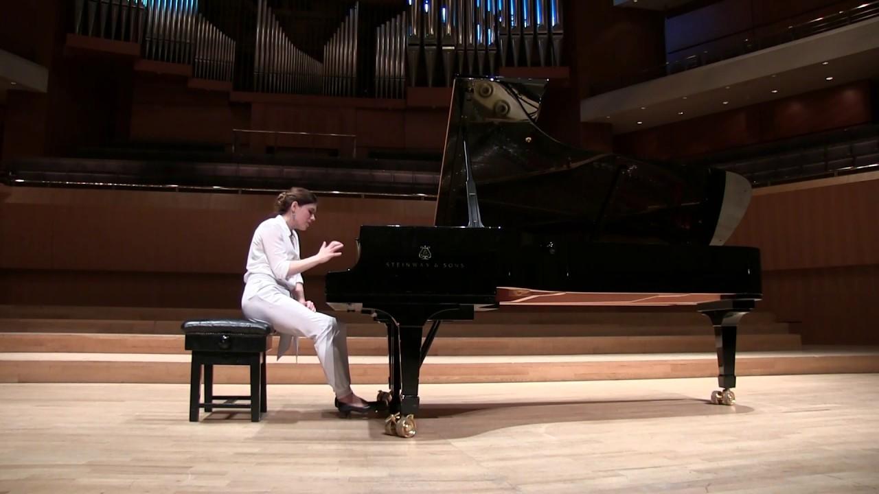 Maurice Ravel - Alborada del gracioso - from Miroirs - Olga Stezhko piano - Live
