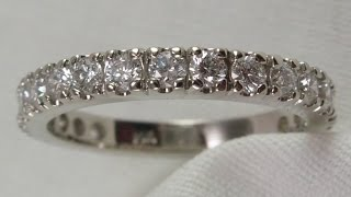 making a 20 stone diamond anniversary ring