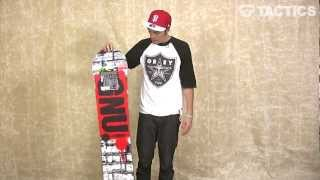 Gnu Carbon Credit BTX Snowboard 2013 Review - Tactics.com