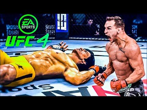 Download BRUCE LEE VS MICHAEL CHANDLER   UFC 4 BRUTAL FIGHT   UFC 4   UFC 4 2021   EA SPORTS UFC 4