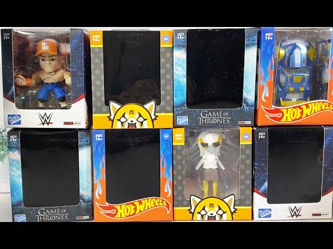 The Loyal Subjects Articulated Figures Haul Collectible Vinyls | WWE, Aggretsuko, Game of Thrones +