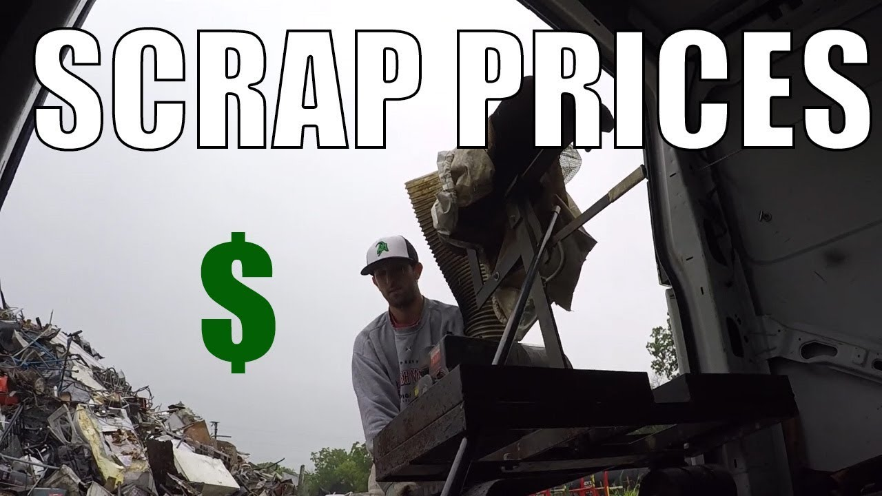 Trip to the Scrap Yard - WHY I LIKE LOW SCRAP PRICES?! - YouTube