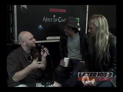 Lazer 103.3 - Andy Hall Interviews Alice In Chains...