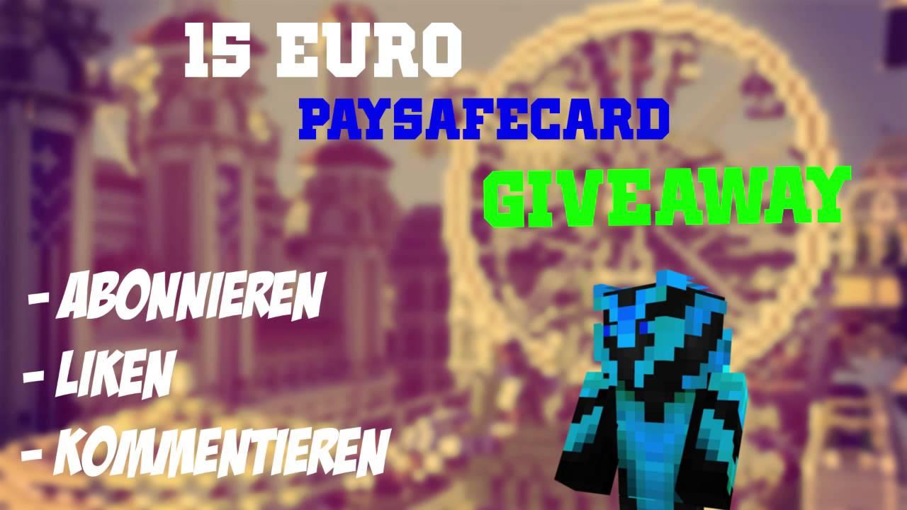 Paysafecard Giveaway