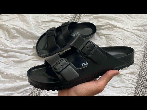 Birkenstock Arizona Eva Sandals Unboxing + On Feet