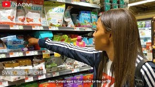 Whole Foods Shopping With Naomi Campbell