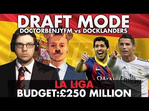 DRAFT MODE & CHAT | DOCKLANDERS | LA LIGA | FOOTBALL MANAGER 2017