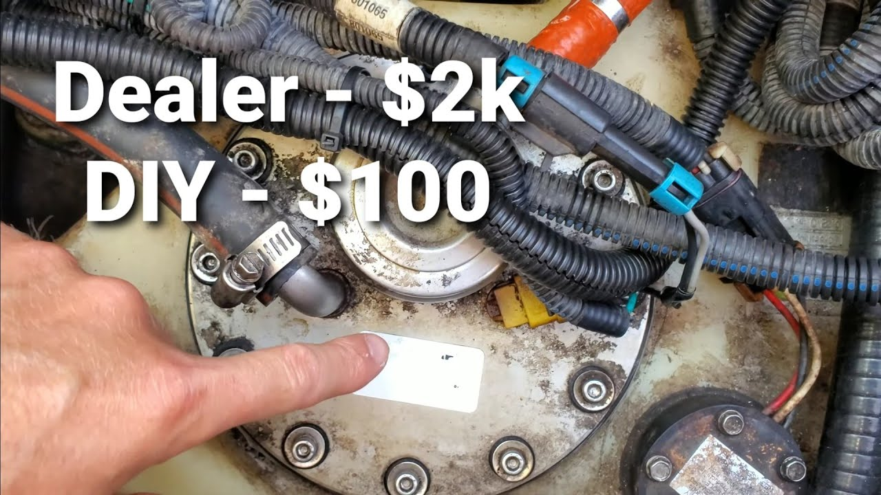 05 mastercraft x10 mcx fuel pump replacement under 100$ - youtube  youtube