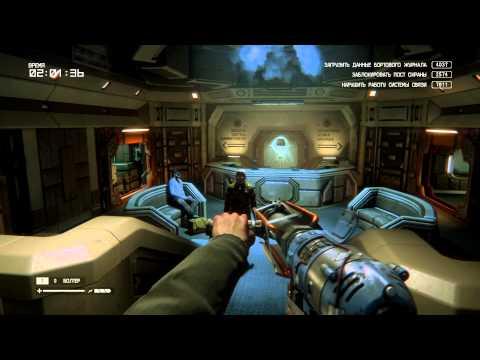 Alien Isolation Чужой DLC Изоляция режим выживший (Рэнсом) Ransom Незаконченные дела |