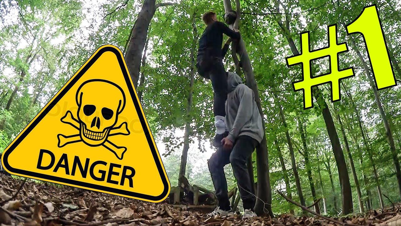 YOUTUBER in der WILDNIS !? | Youtube Camp #1| CrispyRob