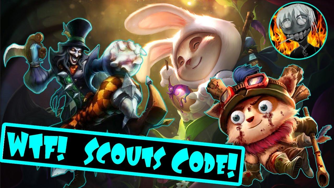 Shaco & Teemo (TROLL BOTLANE) The Scouts Code!?