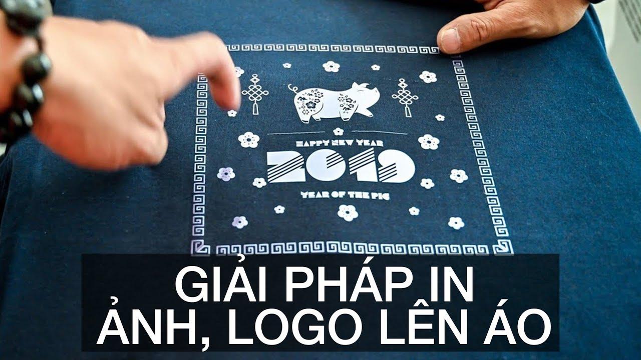 Giải pháp in nhanh hình ảnh, logo lên áo, vải tối màu hoặc quà tặng với chi phí đầu tư thấp