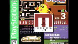 Namco Museum Vol. 3 - Ms. Pac-Man Game Room Theme