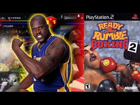 ready-2-rumble-round-2-ps2-gameplay-*funny*-shaq-vs-rah-throwback-retro-gameplay
