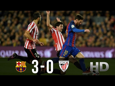 Barcelona vs Athletic Bilbao 3-0 All Goals and Highlights La Liga 04.02.2017 HD