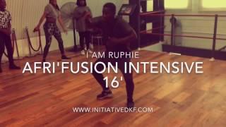 Afri'Fusion Intensive 16 - Wk2 || @Initiativedkf (IAMRuphie)