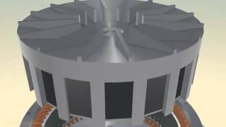 Ротационный двигатель Зуева сборка