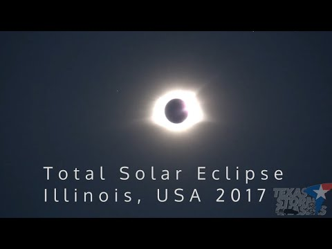 Amazing 2017 Total Solar Eclipse Experience in Illinois