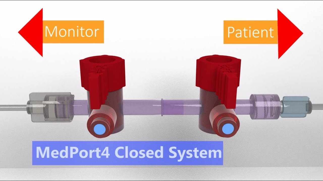 Medport4 Closed System Uac Blood Draw Instructions Youtube