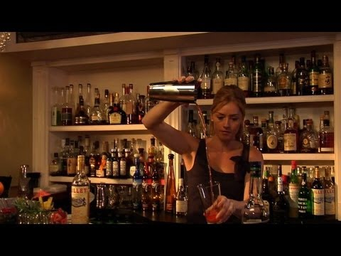 Unusual Negroni Cocktail - The Proper Pour with Charlotte Voisey - Small Screen