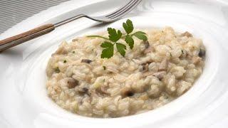 Receta de risotto de champiñones – Karlos Arguiñano