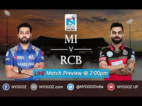 Live MI vs RCB Match Preview IPL 2018 | Rohit and Co Battle Virat Kohli's Boys