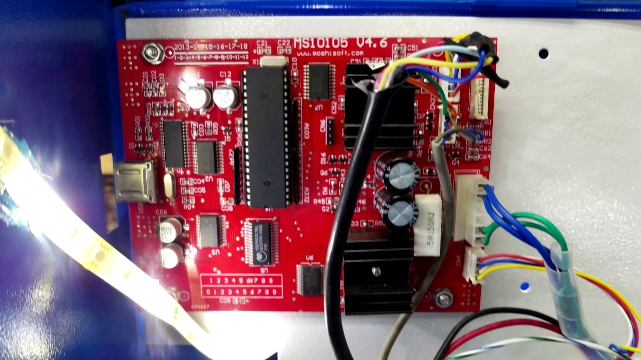 How to Replace the MS10105 Board with a Cohesion3D Laserboard - K40 Upgrade  (Fixed Audio)