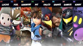 Super Smash Bros Ultimate 8 Player Smash Sneaky Snake!