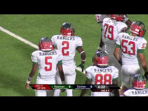 Garland ISD: Naaman vs Sachse 2016 Football
