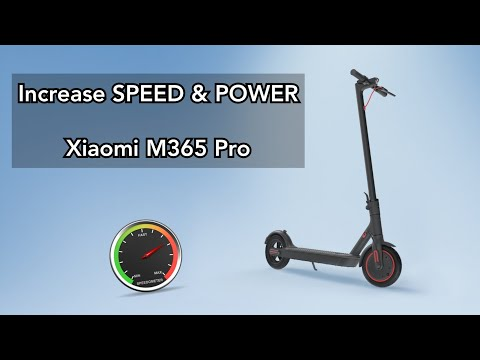 Speed increase & Power increase - Xiaomi M365 Pro electric scooter. Step by step guide.