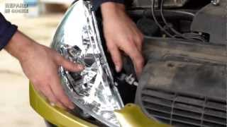 Cómo cambiar el faro de un coche